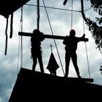 Eröffnung des Kletterwaldes 2013