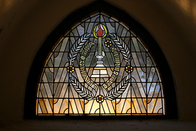 Fenster der ev. Kirche Hoerstgen