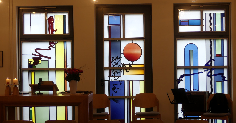 Sevelen Kirchenfenster